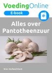 E-book Alles over Pantotheenzuur