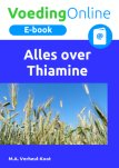 E-book Alles over Thiamine